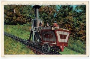 Peppersass, Mt Washington Railway, White Mts NH