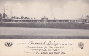 Chesmotel Lodge , HOPINSVILLE , Kentucky , PU-1953