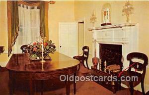 Charlottesville, VA, USA Dining Room, Ash Lawn, Home of President James Monroe