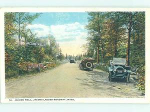 W-Border ROAD OR STREET SCENE Lowell Massachusetts MA hJ5843