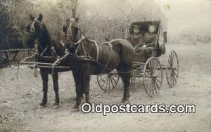 Allendorf, Iowa?  Horse Drawn Postcard Post Card Old Vintage Antique  Allendo...
