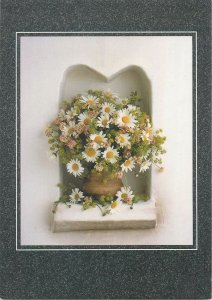 Postcard  flower bouquet greeting