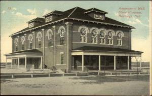 Hastings NE Amusement Hall State Hospital - Insane Asylum? c1910 Postcard