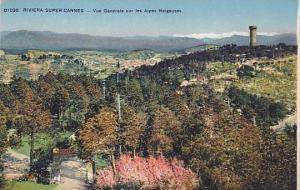 Vue Generale Sur Les Alpes Neigeuses, Riviera Super-Cannes, France, 1900-1910s
