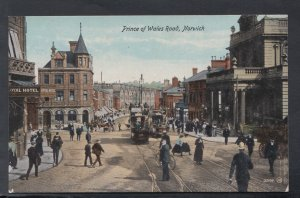 Norfolk Postcard - Prince of Wales Road, Norwich   HP457