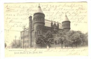 Detroit Museum of Art, Detroit, Michigan, PU-1905