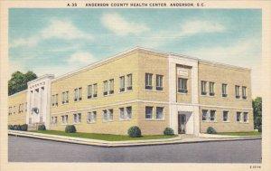Anderson County Health Center Anderson South Carolina