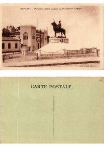 CPA Algerie - Tlemcen - Monument eleve á la gloire du 2e Chasseurs (774288)