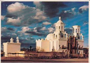 Arizona Phoenix San Xavier Del Bac Mission 1980