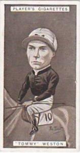 Player Vintage Cigarette Card Racing Caricatures 1925 No 38 Tommy Weston
