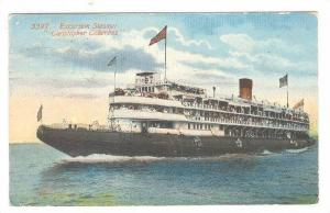 Steamer/Ship, Excursion Steamer Christopher Columbus, PU-1913