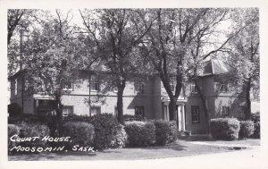 RP: MOOSOMIN , Saskatchewan , Canada , 1930s : Court House
