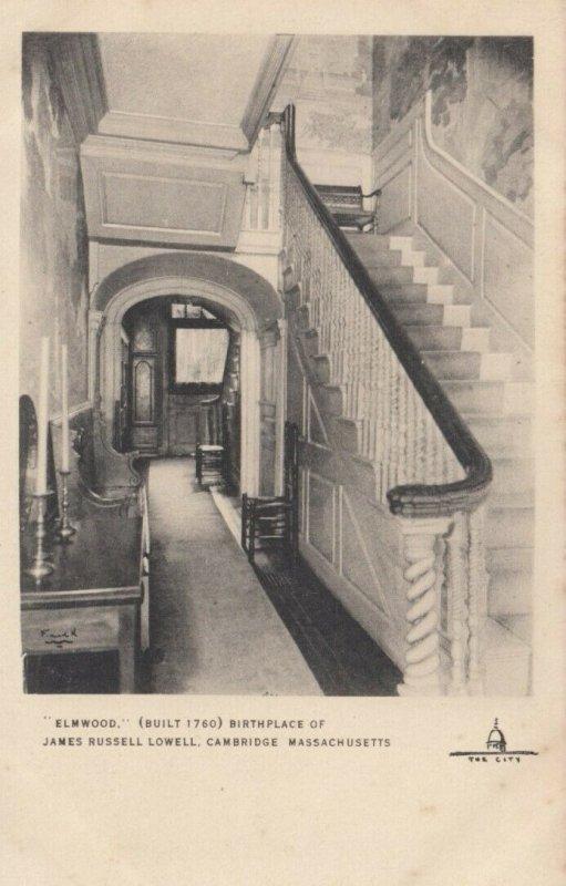 CAMBRIDGE, Massachusetts, 00-10s; Elmwood, Birthplace of James Russell Lowell