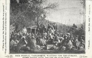 TABAROUTH , Algeria , 1900-10s ; Patients waiting for treatment