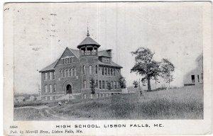 Lisbon Falls, Me, High School