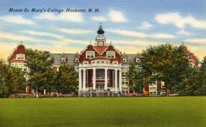 NH - Hooksett.  Mount St Mary's College