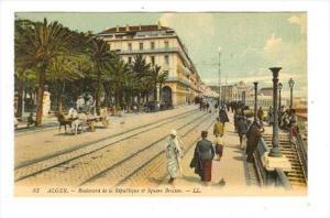 ALGER.-Boulevard de la Republique et Square Bresson, 00-10s