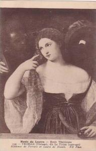 Vecelli dit Le Titien Alphonse de Ferrare et Laura de Dianti Musee Du Louvre ...