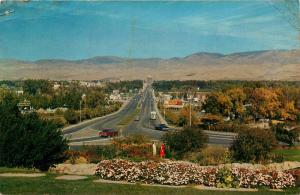 Boise, Idaho, ID, Looking Down Capitol Boulevard, 1962 Vintage Postcard e6203