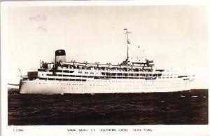 S.S. Shaw Savill - Southern Cross - Australian 1955 R.P.