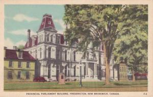 Provincial Parliament Building - Fredericton NB, New Brunswick, Canada - Linen