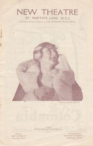 Sybil Thorndike Romance Lewis Casson in Madame Plays Nap Old Theatre Programme