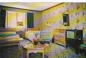 Alabama Mobile Spanish Fort Motel Typical Room 1960