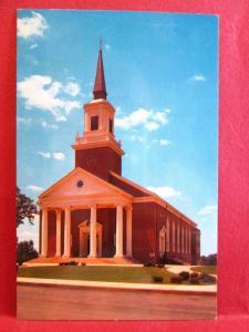 Postcard MD Westminster Western Maryland College Baker Memorial Chapel