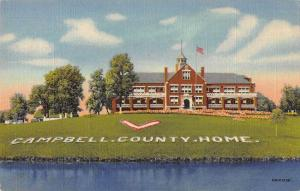 Cold Springs Kentucky Campbell County Home Linen Antique Postcard J59163