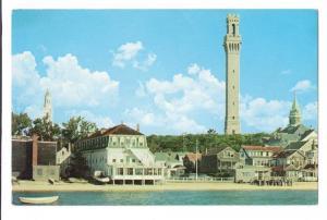 Cape Cod MA Waterfront Provincetown Vintage Postcard