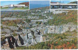 Rock of Ages Granite Quarry, Barre, Vermont, VT, Chrome