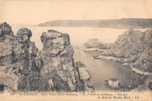 uk39133 icart point from jerbourg guernsey real photo uk lot 20 uk
