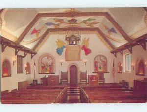 Pre-1980 CHURCH SCENE Lawton Oklahoma OK A8720