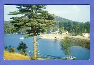 Long Lake, New York/NY Postcard, Hotel Adirondack