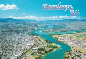 Canada Kamloops Aerial View