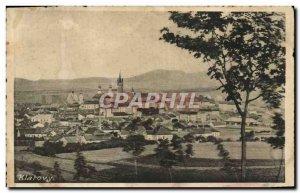 Old Postcard Klavovy