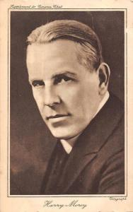 Harry Morey, Actor, Supplement to Cinema Chat, Vitagraph Postcard