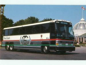 Bus Lines Gray Coach  MCI 102A3 Wide Bodied Coach Motor Coach In Postcard # 6105