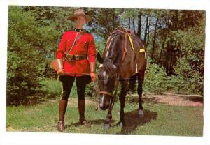 Men in Scarlet, One of the Royal Canadian Mounted Police,Canada, 40-60s
