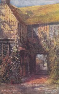 AS, Chapel, Doorway, IGHTHAM MOTE (Kent), England, UK, 1902