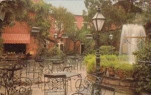 Pat O Briens Courtyard New Orleans Louisiana 1968