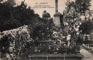la Tombe de Soeue l Herese,Lisieux,France BIN