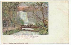 MN - Minneapolis. Falls of Minnehaha