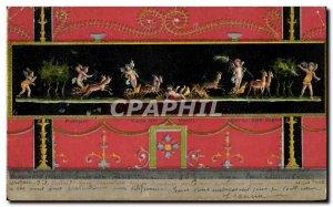 Old Postcard pompei Case del Vettil Biches Angels