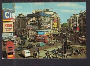 Piccadilly Circus,London,England,UK BIN