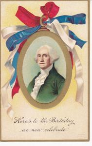 Portrait of George Washington, Gold detail, 00-10s