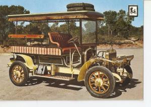 Postal 036606 : Coches de epoca. Hispano Suiza 10 CV. Museo-Claret Sils (Gerona)