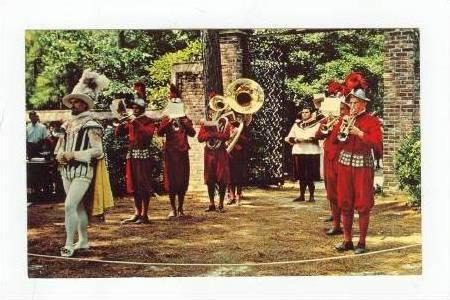 The outer banks of North Carolina, The Elizabethan Gardens, Roanoke Island, N...