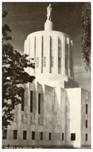 Oregon Salem , New Capitol building