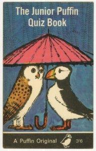 The Junior Puffin Quiz Book 1966 Paperback Souvenir Postcard